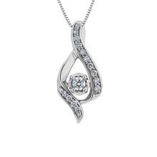 Hochwertige CZ 925 Silber Anhänger Halskette für Geschenk