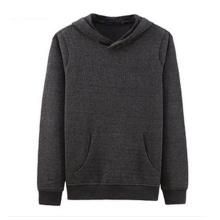 Custom Logo Cotton Fleece Mens Blank Wholesale Plain Hoodies