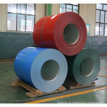 Verzinktem Stahl Spule/PPGI/Farbe beschichtet Spule (0,13 ~ 1,2 mm)