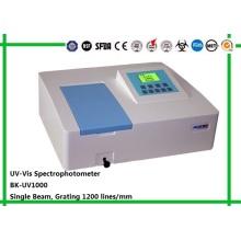 Espectrofotômetro UV / Visível de laboratório Biobase com feixe único