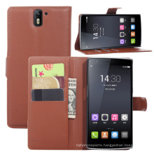 One Plus One Leather Lichi Case
