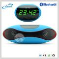 Últimas Alta Qualidade Android APP Controle Relógio LED Display Wireless Bluetooth Speaker