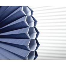 persianas horizontales del panal de la tela del patrón horizontal por encargo para la decoración de la ventana
