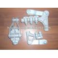 Braçadeira de cabo de liga de Alumínio elétrico linha de transmissão elétrica pólo de montagem de hardware poder sobrecarga cabo acessórios