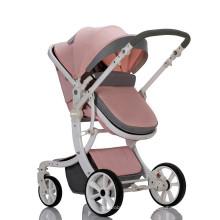 2019 Novos sistemas de viagens Cadeira de bebê para carrinho de bebê com rodas grandes Carrinho de bebê 3 em 1 com carrinho