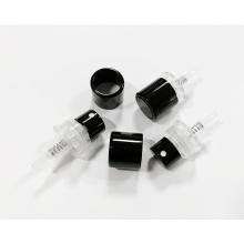 Pompe d'atomiseur de parfum noir à col de bouteille de 15 mm