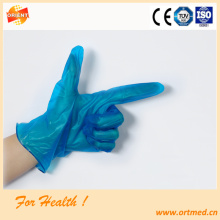 machine production transparent pvc  work gloves