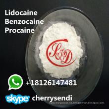 Drogas anestésicas locales del analgésico Antipirine del polvo tópico de Benzocaine CAS 94-09-7