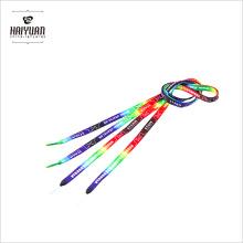 Подгонянный шнурок шнурка шнурка плоский красочный сублимационный шнурок