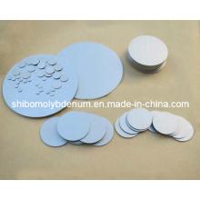 Disque de molybdène pur de 99,95% pour les pièces semi-conductrices