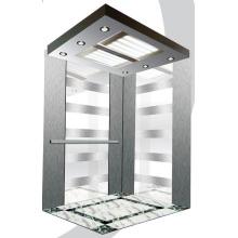 Aksen Mirror Etched Passenger Elevator Mrl J0314
