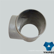Butt Weld Seamless Ss Pipe Fitting Tee