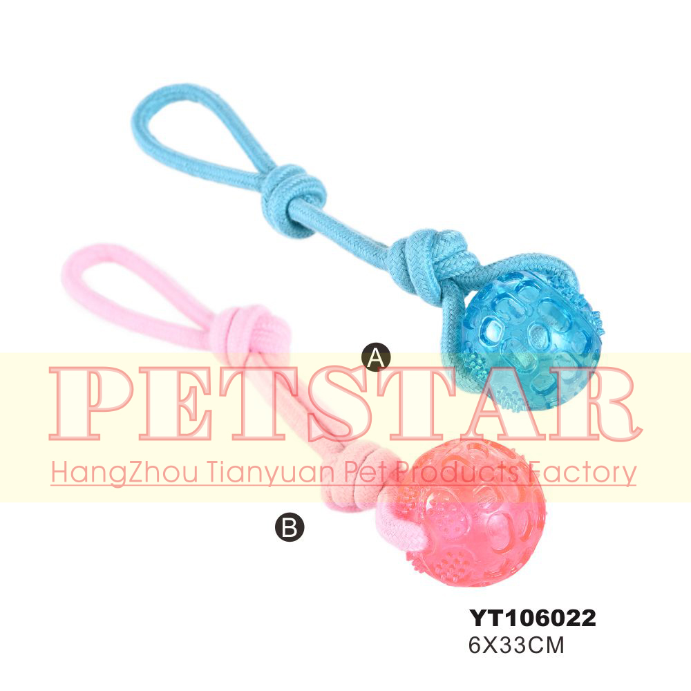 Chinese Self-Playing Pet Dog Interactive Rope Toys For Pet