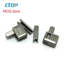 hot sale metal accessory zipper pin and box for open end zipper