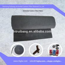 Alta qualidade de corte e dobradura arbitrariamente G3, filtro de ar de feltro de fibra de carbono ativado G4