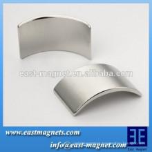 Permanent arc Neodymium Magnet with high quality/n35-n52 segment magnet for turbine