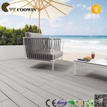 Ausgerüsteter HDPE WPC Boden, WPC Außenboden Holz Kunststoff Composite