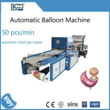 Máquina para fabricar globos de mylar controlada por computadora
