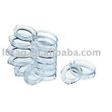 Caso de plástico vazia Eyeshadow Compact
