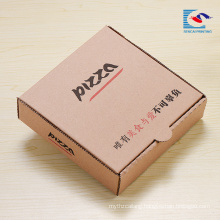 custom design pizza corrugated packing box with logo