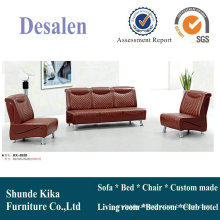Red Leather Office Furniture Sofa (8520)