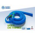BV Approved 12 Strand UHMWPE Cuerda de amarre (XCMAX)