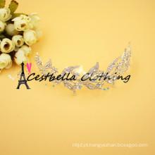 Metal barroco Casamento de casamento de ouro Acessórios para cabelo Casacos de jóias de noiva Headwear