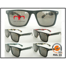 Classical and Fashion with Camouflage Pattern Inside for Unisex Plastic Sunglasses (WSP505174)