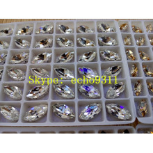 Colorful Rhienstonehorse Eye Shape for Jewelry Decoration