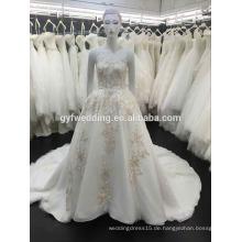 Neue weiße Blume Evenig Kleid formale Abend Brautjungfer Cocktail Braut formale Partei Kleid lange Abendkleid