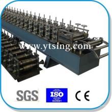 Passé CE et ISO YTSING-YD-6626 Rouleau d'armature de porte en acier automatique formant des machines