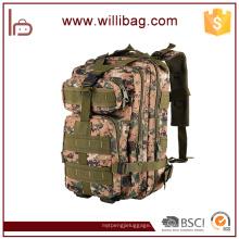 Mochila militar táctica de alta calidad al aire libre del camuflaje mochila