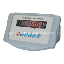 Indicador electrónico de pesaje de plástico para la escala