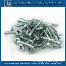 4.2X35 C1022 Steel Hardend Blue White Galvanized Drywall Screws