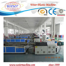 High quality weier WPC PP door and window profile line