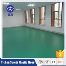 Litchi vert motif PVC 3.5mm bureau intérieur PVC plancher
