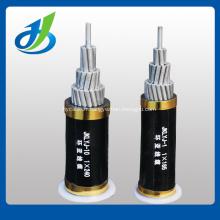 Câble torsadé aérien en aluminium nu, câble d'AAC