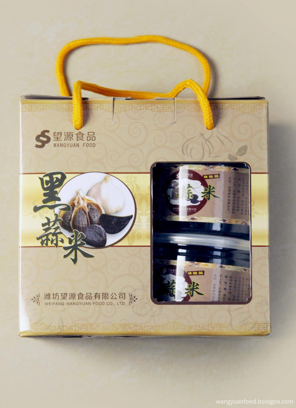 Weifang Peeled Black Garlic