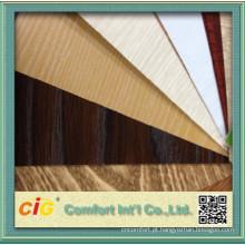 Uso de Funitue PVC decoração filme com grão de madeira