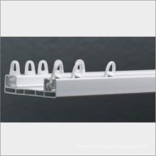 2 rail pvc curtain window manufacturer