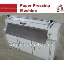Machine à presser à plat en papier