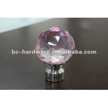 crystal glass finial