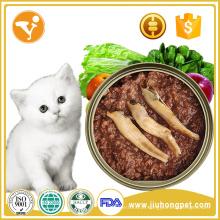 Pet Food Wholesale Real Nutrition Health Comida enlatada com gato
