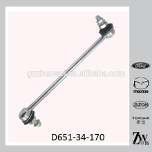 Liga do estabilizador da suspensão do carro para MAZDA 323, MAZDA 2 D651-34-170