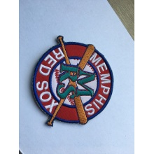 Flag embroidery fabric patches for clothing