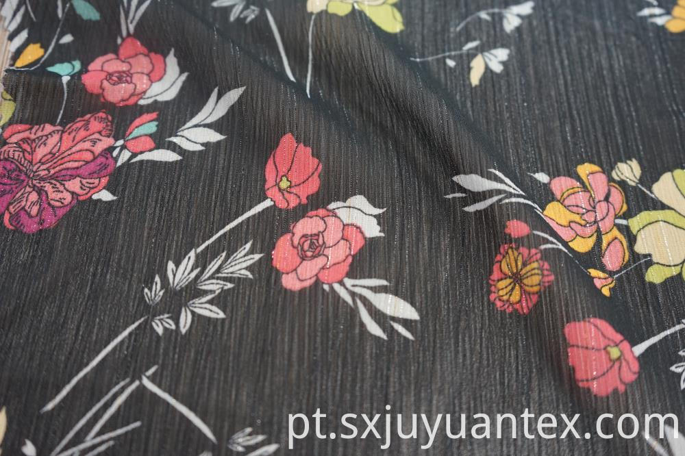 Polyester Lurex Fabric