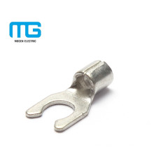 Different Sizes Copper Type Of Spade Locking Wire Connectors