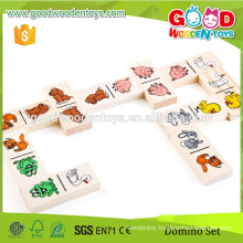 CE/ROHS reached Factory Wholesale Dominos High Quality Handmade Kids Christmas Gift