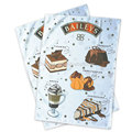 100%polyester sublimation printing tea towel