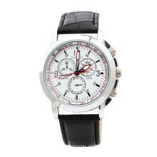 New Fashion Men Waterproof Leather Quartz Watch